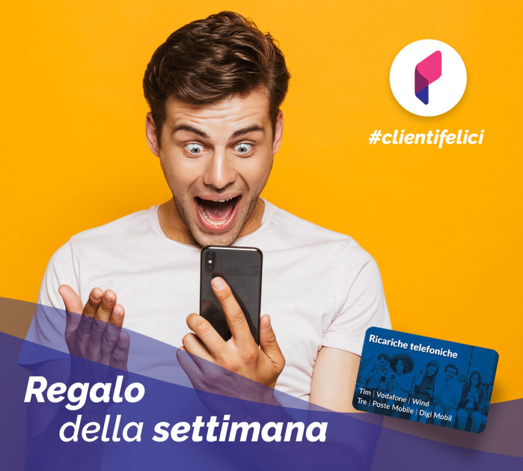 Gift of the week ricarica telefonica 10 euro